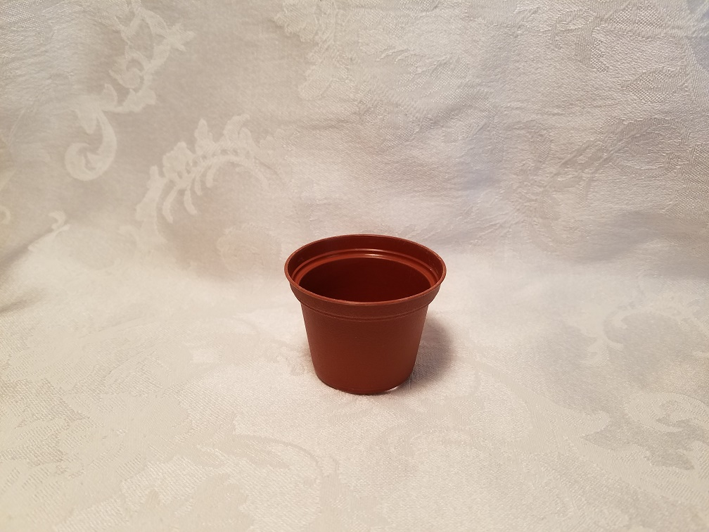 "2.5"" Plastic Terracotta Pot"