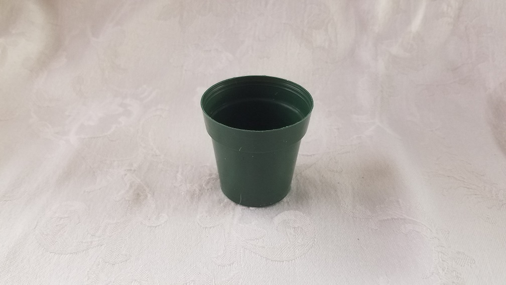 "2"" Plastic Green Standard Pot"